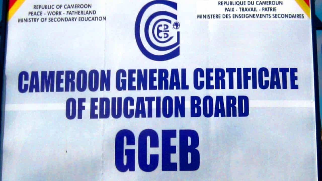 cameroon gce 2020 results image