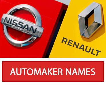 car manufacturer unscramble words quiz feature image