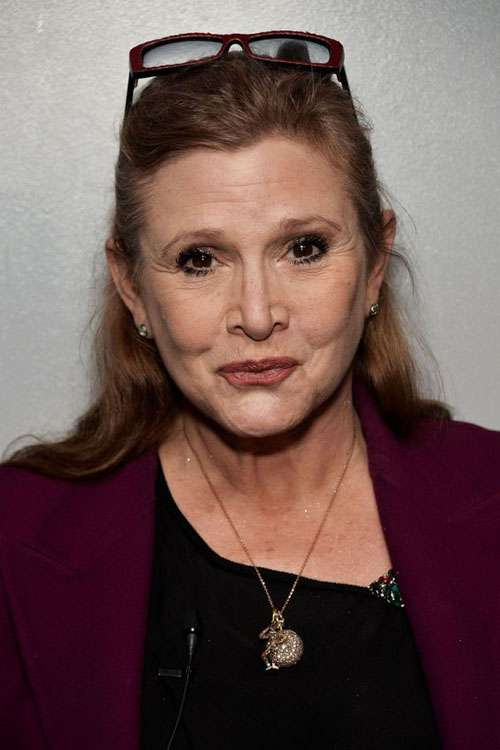 Carrie Fisher leia organa star wars the rise of skywalker photo