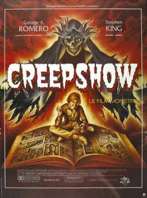 Creepshow horror movie poster