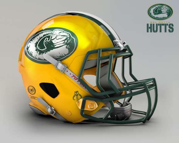Green Bay Packers nal hutta hutts nfl team helmet star wars costum img