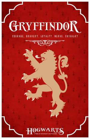 what's your hogwarts house - Gryffindor hogwart house of harry potter image