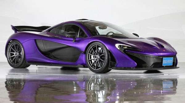 McLaren P1 car pic