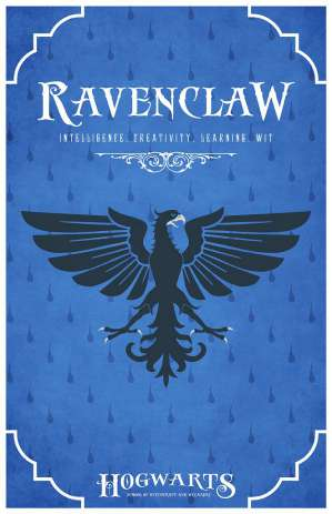 Ravenclaw hogwarts house of harry potter image