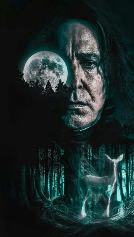 SEVERUS SNAPE drawing picture of harry potter movie img