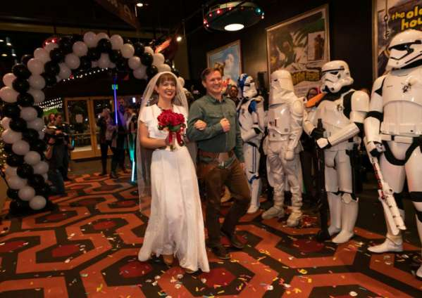 what would i be in the starwars universe - Star Wars fans marry in themed weddings party image
