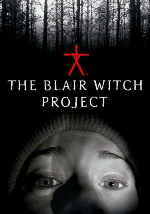 The Blair Witch Project dvd movie poster
