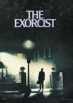 horror films anagrams - The Exorcist horror movie poster img