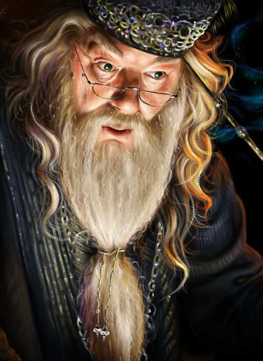 albus dumbledore actor magic costume picture
