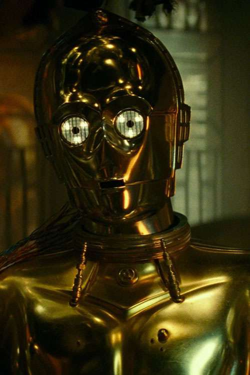 c-3po robot the rise of skywalker image
