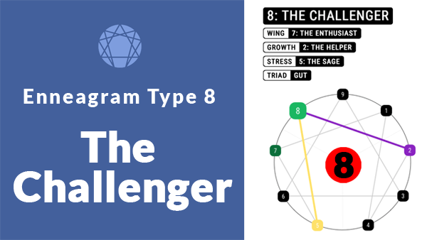enneagram type 8 the challenger