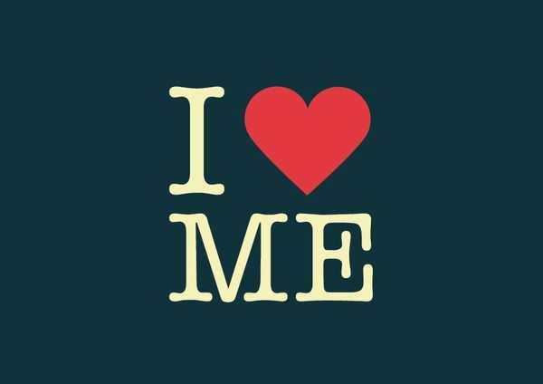 i heart me - i love myself img