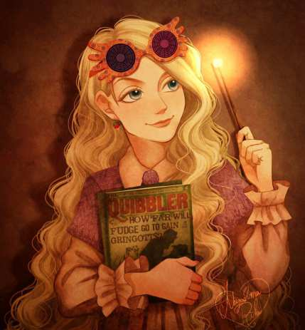 luna lovegood fanart cartoon png