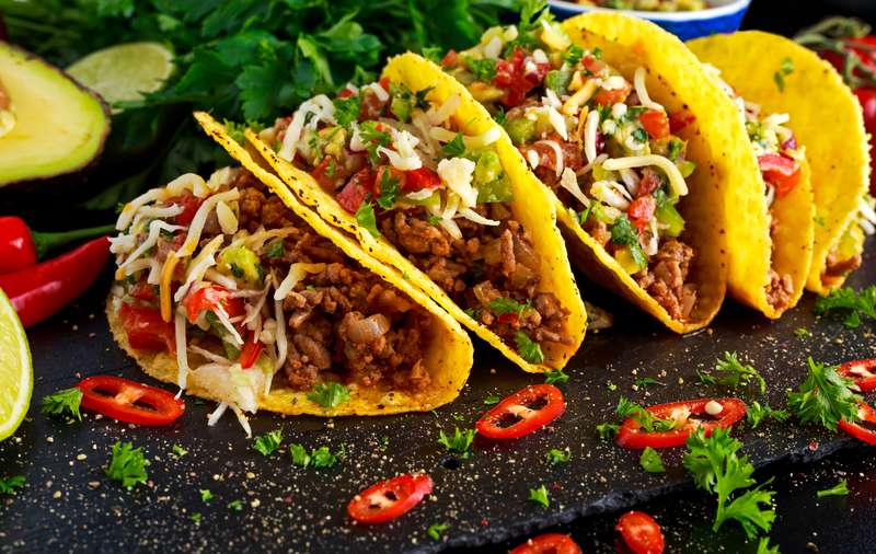 name all fast food restaurants quiz - mexican food taco bell img