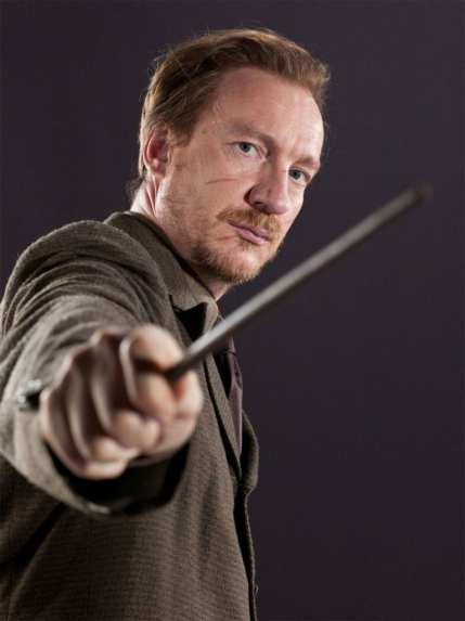 remus lupin holding magic wand hp character img