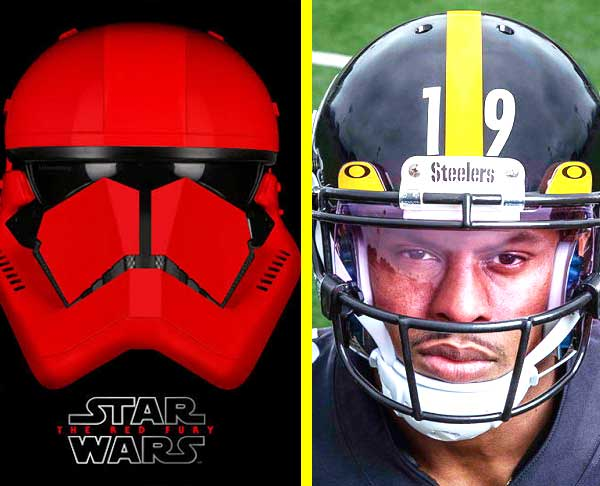 guess the nfl team by picture of star wars helmets image