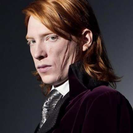 william weasley cose up face harry potter character photo