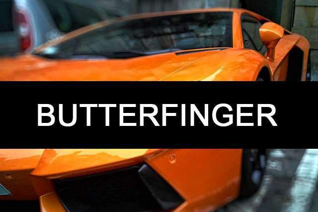 BUTTERFINGER-car name photo