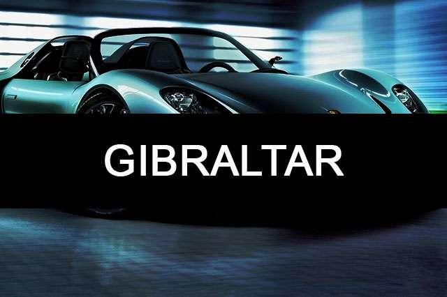GIBRALTAR--car name photo
