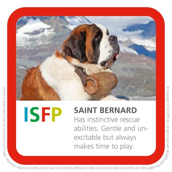 ISFP saint bernard img