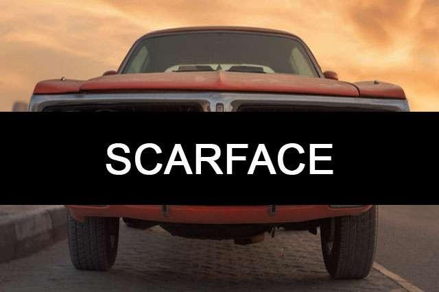 SCARFACE-car name wallpaper
