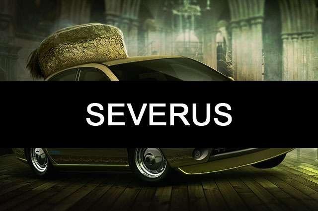 SEVERUS-harry potter car name wallpaper