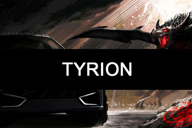 TYRION-games of thrones car name wallpaper
