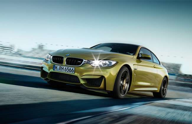yellow bmw m_Series pic