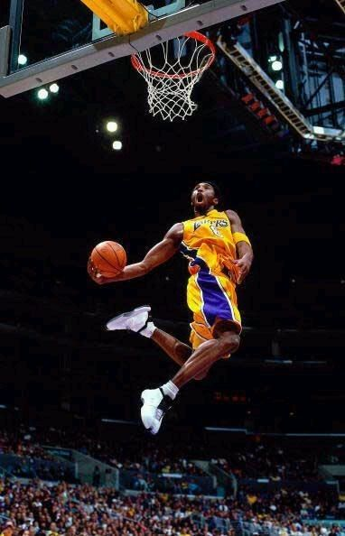 kobe bryant slam dunk contest photo