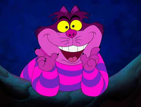 10 Cheshire Cat singing alice in wonderland