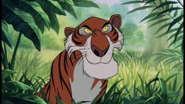 3 Tiger in The Jungle Book shere khan