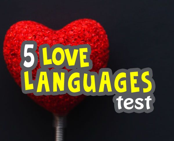 love language quiz - what is my love language quiz image