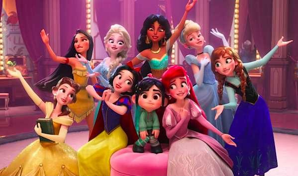 9 disney princess