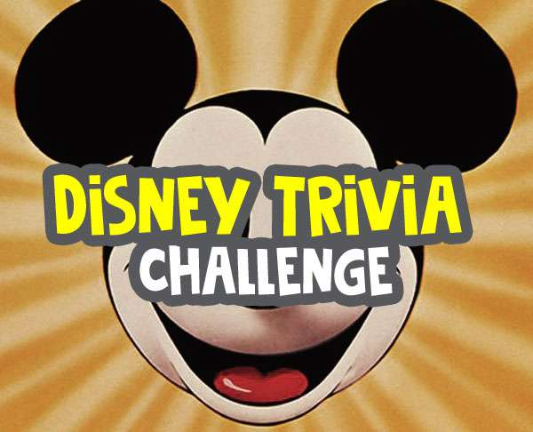 multiple choice trivia questions - disney trivia questions challenge image