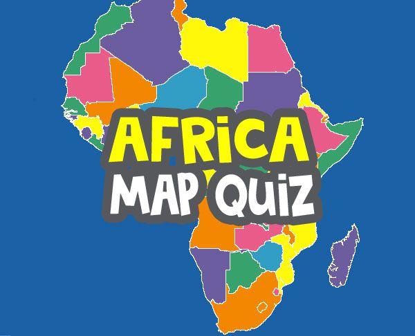 africa map quiz image