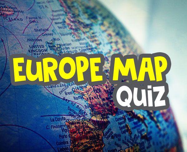 europe map quiz - europe countries - map quiz game - online seterra image