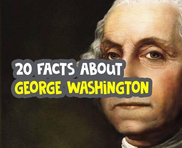facts about george washington image