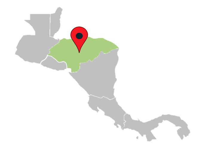 central america map quiz - honduras-central-america-blank-map
