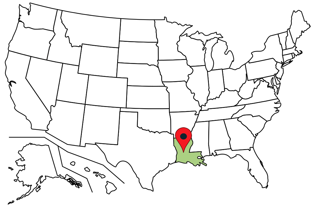 louisiana-blank-map