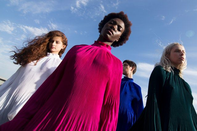 what animal am i quiz - low-angle-photography-of-four-women-in-assorted-color-long