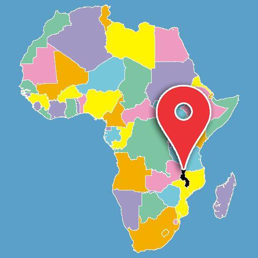 malawi-blank-map