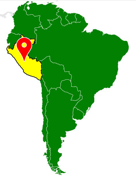 map of south america - peru-blank-map