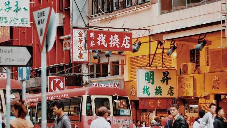 travelling to china town image