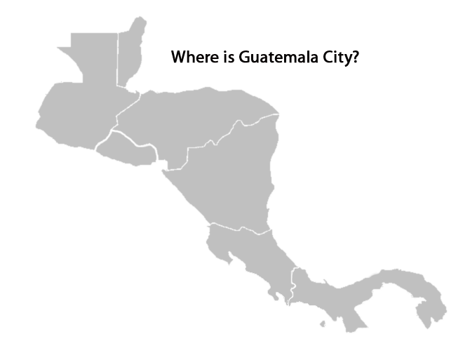 map of central america quiz - where-is-guatemala-city