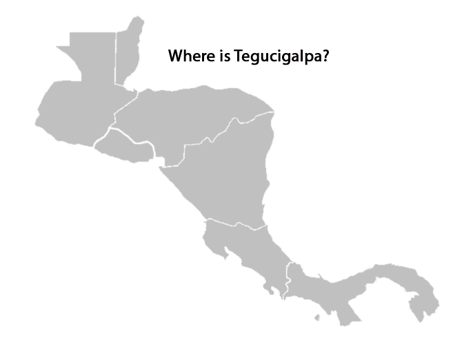 map of central america quiz - where-is-tegucigalpa
