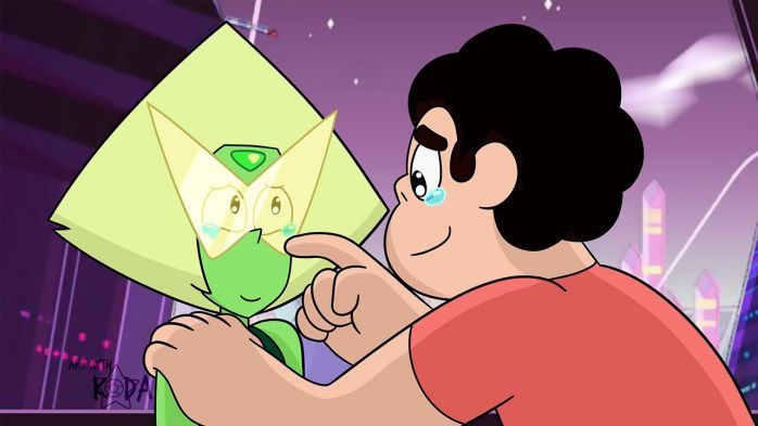 4 steven univers and peridot