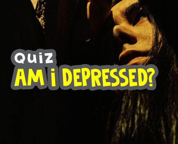 am i depressed quiz - how depressed am i quiz image