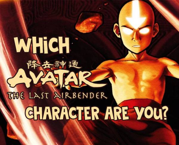 What avatar the last airbender character am i quiz image