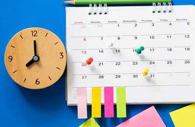 planning schedule image
