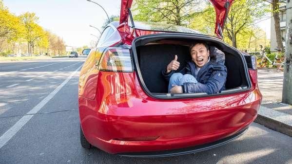 what car should i buy quiz | AndroidPIT-tesla-model-3-trunk image